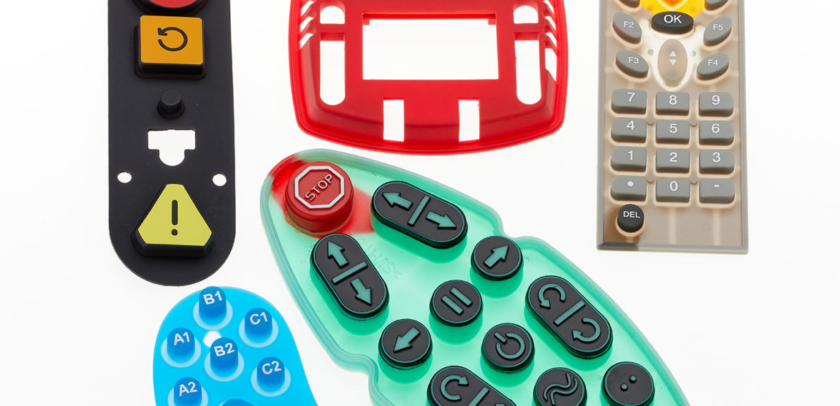 Assorted Rubber Keypads
