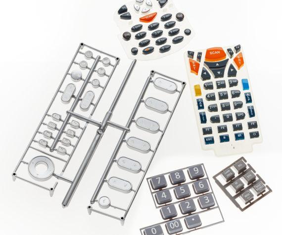 Plastic Key Caps